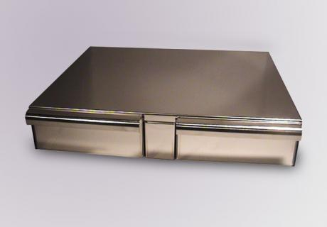 Bezzera Double Stainless Steel Draw (Version 2)
